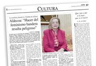 Entrevista Josefina Aldecoa M
