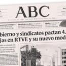 Gobierno y sindicatos pactan 4.150 bajas en RTVE y su nuevo modelo M