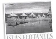 Islas flotantes. La totora boliviana boya en Sawiña M