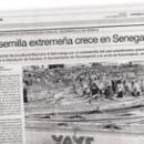 La semilla extremeña crece en Senegal M