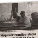 Maquis extremeños relatan sus experiencias en Yuste M
