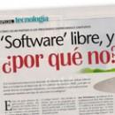 Software libre, ¿por qué no M