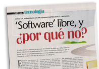 Software libre, ¿por qué no M