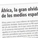 África, la gran olvidada de los medios españoles M