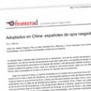 Adoptados en China españoles de ojos rasgados M
