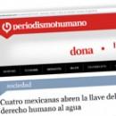 Cuatro mexicanas abren la llave del derecho humano al agua M