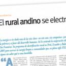 El rural andino se electriza M