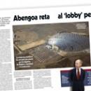 Abengoa reta al 'lobby' petrolero M