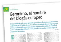Geronimo, el nombre del biogás europeo M