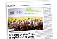 La Cumbre de Río+20 tiñe el capitalismo de verde M