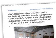 Mujer en guaraní se dice revolución M