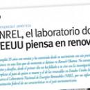 NREL, el laboratorio donde EEUU piensa en renovable M