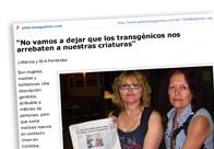 Entrevista Madres de Ituzaingó