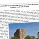 UNAM El espejo universitario en el que se mira México para terminar con la falta de agua