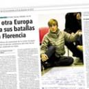 La otra Europa fija sus batallas en Florencia