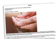 El agua presiona con éxito la primera Iniciativa Ciudadana Europea