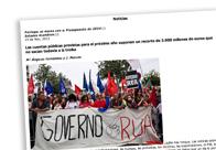 Portugal se marea con el Presupuesto de 2014