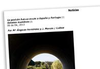 La gestión hídrica divide a España y Portugal