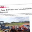 El Canal de Panamá Una historia repetida de intereses y sobrecostes