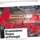 El comunismo florece en Portugal
