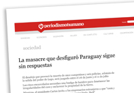 La masacre que desfiguró Paraguay sigue sin respuestas