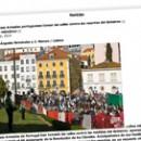 Las Fuerzas Armadas portuguesas toman las calles contra los recortes del Gobierno