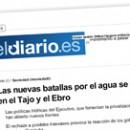Las nuevas batallas por el agua se libran en el Tajo y el Ebro