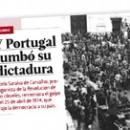 Y Portugal tumbó su dictadura
