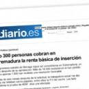 Sólo 300 personas cobran en Extremadura la renta básica de inserción