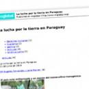 La lucha por la tierra en Paraguay