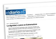 La dignidad, a juicio en Extremadura