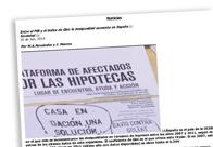 Entre el PIB y el índice de Gini La desigualdad aumenta en España