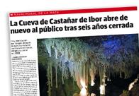 La Cueva de Castañar de Ibor abre de nuevo al público tras seis años cerrada