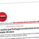La noche que Portugal revolucionó al mundo cumple 40 años