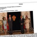 La visita de los reyes a Portugal Iberia en el recuerdo
