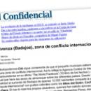 Olivenza (Badajoz), zona de conflicto internacional