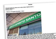 Portugal rescata con dinero de la troika el Banco Espíritu Santo
