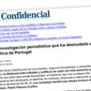 La investigación periodística que ha desnudado a la casta política de Portugal