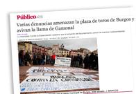 Varias denuncias amenazan la plaza de toros de Burgos y avivan la llama de Gamonal