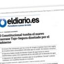 El Constitucional tumba el nuevo trasvase Tajo-Segura diseñado por el Gobierno