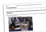 """Españoles en la trituradora de los call centers portugueses """"En 15 días lo tuve que dejar"""""""