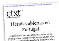 Heridas abiertas en Portugal