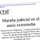 Maraña judicial en el oasis extremeño