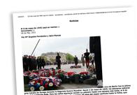 El 8 de mayo de 1945 cayó en martes