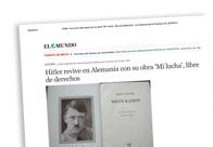 Hitler revive en Alemania libre de derechos