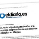 La Junta adjudicó Aznalcóllar a la empresa responsable de un desastre ecológico en México