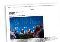Unión Europea, ¿65 años de paz¿
