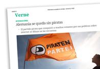 Alemania se queda sin piratas