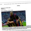 Barcelona, gana; Merkel, juega