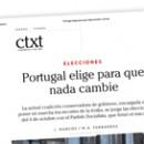 Portugal elige para que nada cambie
